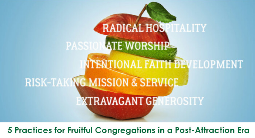 5 Practices for Fruitful Congregations in a Post-Attractional Era