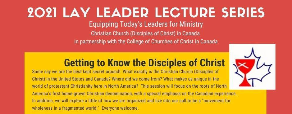 Getting to Know the Disciples of Christ