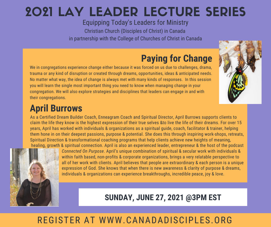 Lay Leader Education Program - Paying for Change