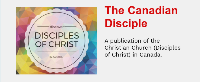 the canadian disciples newsletter